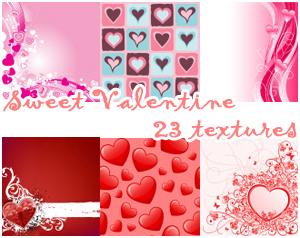 Sweet Valetine Textures