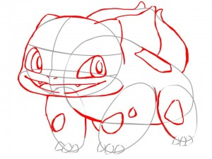 Dibujar a Bulbasaur paso a paso  IlustraIdeas
