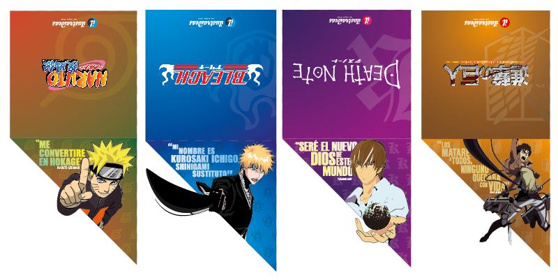 Separadores de libros estilo anime parte 3