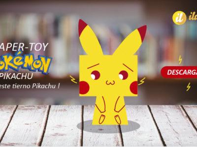 Paper Toy de Pikachu – Pokémon