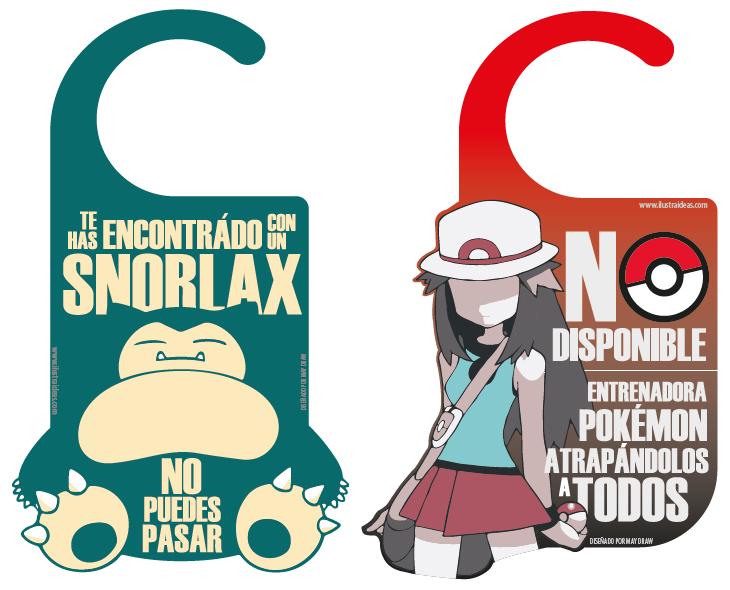 Colgadores de Puerta Pokémon