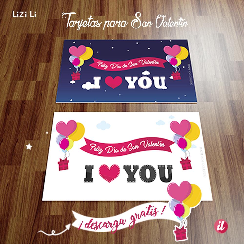 Tarjetas para el día del amor, imprime y sorprende a tu ser querido este 14 de Febrero