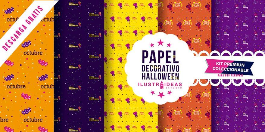 Papeles Deco para Halloween