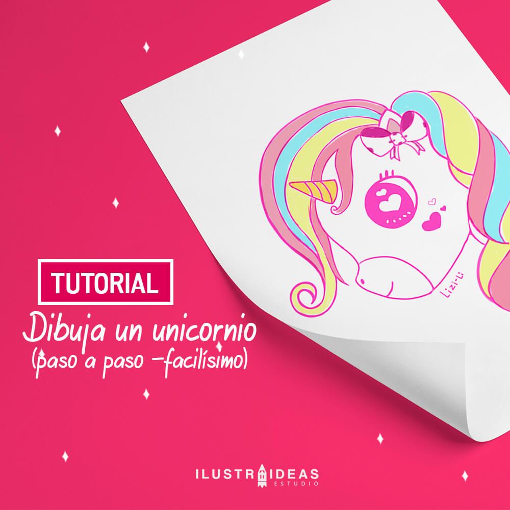 Dibuja un unicornio paso a paso