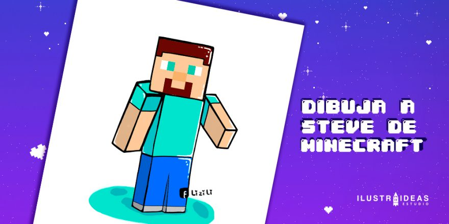 como_dibujar_a_steven_de_minecraft