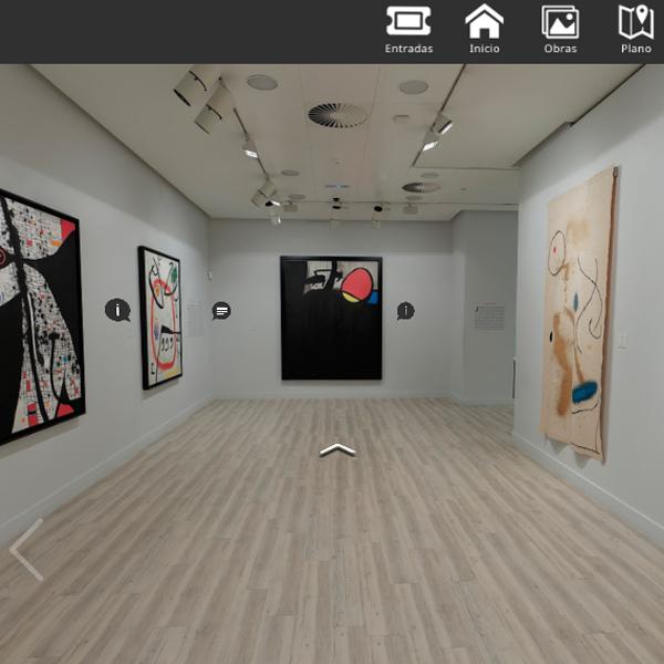 Yo me quedo en casa en el Espacio Miró