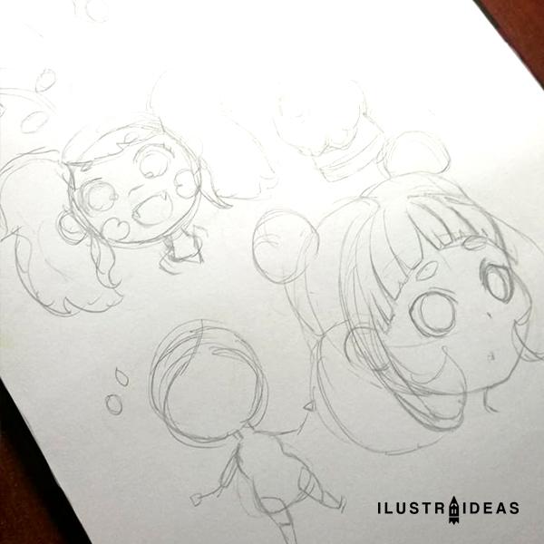 Dibujos de chibis