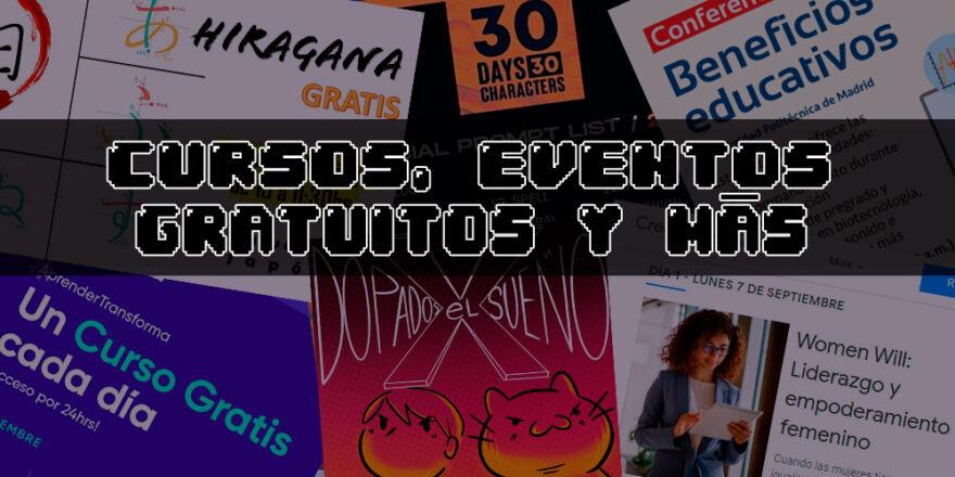 CURSOS, EVENTOS GRATUITOS