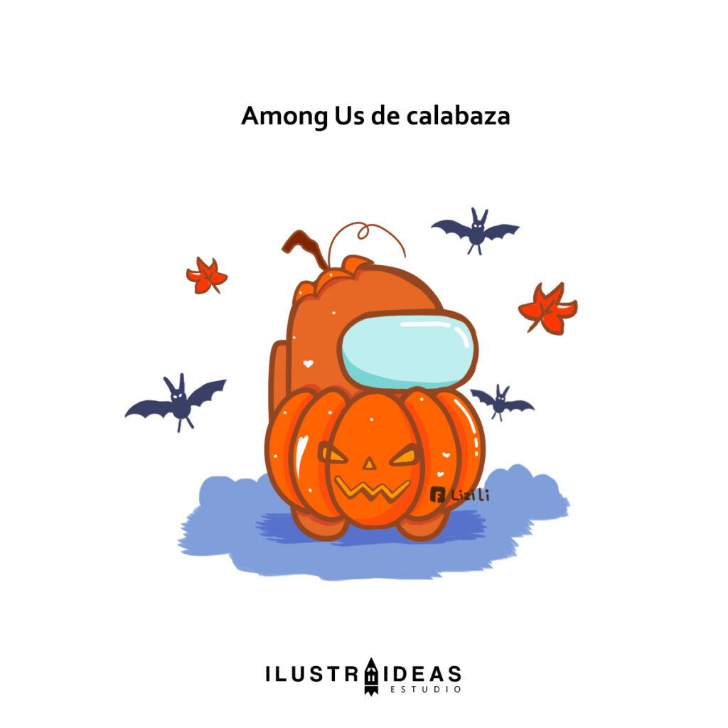 Disfraza a tu Among Us para halloween
