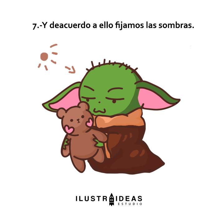 Cómo dibujar a Baby Yoda