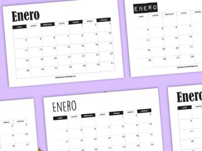 calendario organizador 2021
