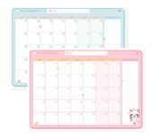 Planner mensual sin fechas