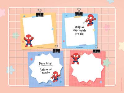 Memopad Spiderman