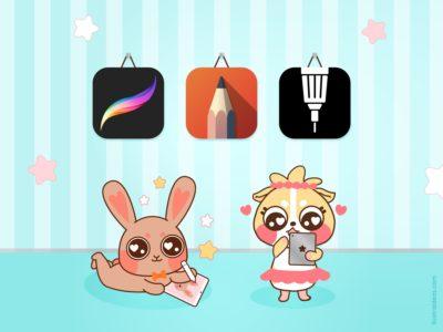3 Aplicaciones para dibujar en el iPad